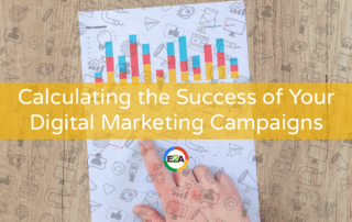 Checking data and return on investment on digital marketing campaign
